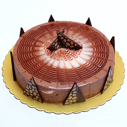 Rich Cappuccino Cake: Cake Delivery in Bahrain