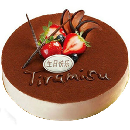 Delicious Tiramisu Cake:  Cake Delivery In China