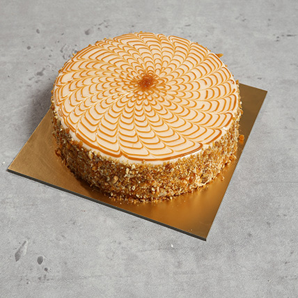 1Kg Yummy Butterscotch Cake EG: Egypt Gift Delivery