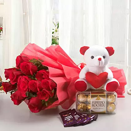 Rosy Combo: Gifts To India