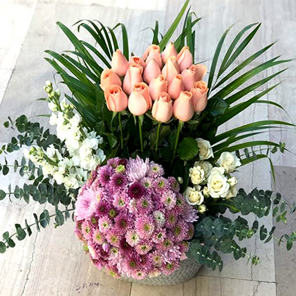 Delightful Mixed Flowers: