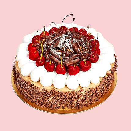 4 Portion Blackforest Cake: