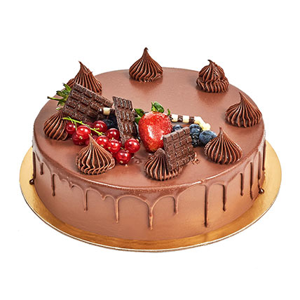 4 Portion Fudge Cake: Cake Delivery in Ajman
