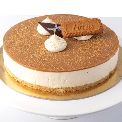 4 Portions Lotus Cheese Cake: Birthday Cakes for Husband