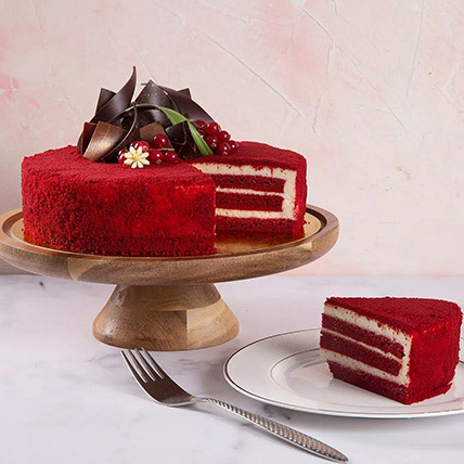 4 Portions Red Velvet Cake: Birthday Gift Ideas