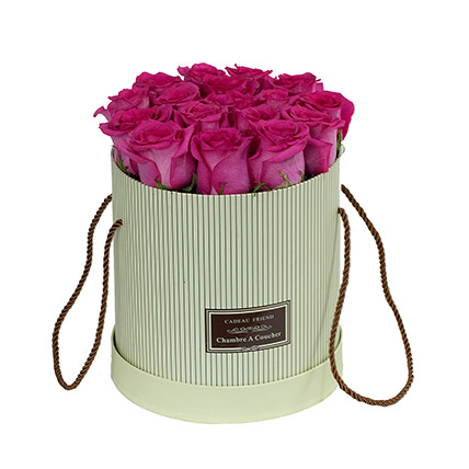 Adorable Pink Roses Box: Karwa Chauth Flowers