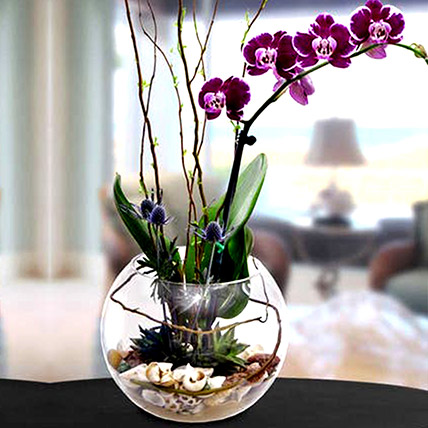 Artificial Real Touch Phalaenopsis: Artificial Flowers