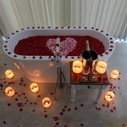 Bathtub Full of Rose Petals: Experiential Gifts