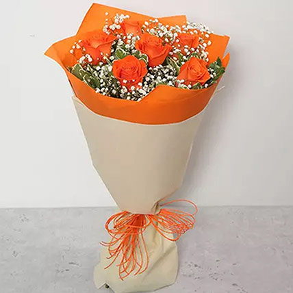 Bouquet Of Orange Roses: Gift Ideas for Girls