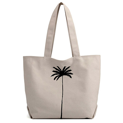 Canvas Shopper Bag: Accessories