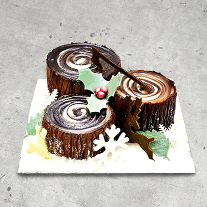 Chocolate Trunk Cake: Designer Cakes