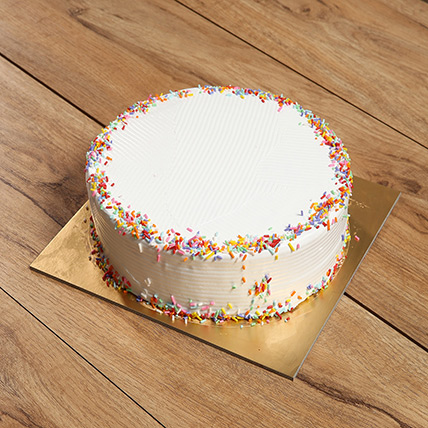 Eggless Rainbow Cake: Eggless Cakes for Birthday