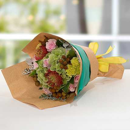 Exotic Flower Bouquet: Carnation Flower Bouquet
