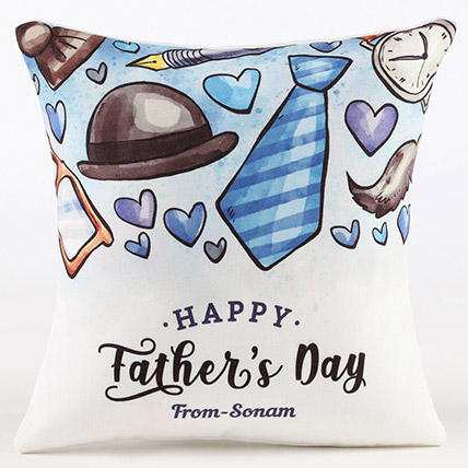 Fathers Day Personalised Cushion: Fathers Day Personalised Gifts