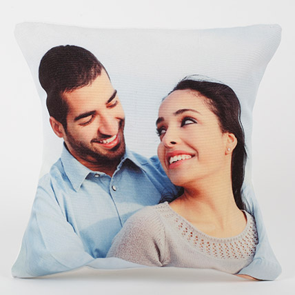Forever Yours Personalized Cushion: Personalised Gifts Dubai