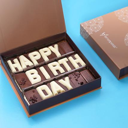 Happy Birthday Chcocolate: