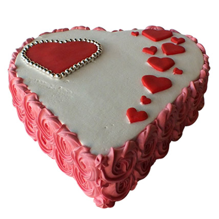Heartshape Love Cake: Heart shape Cakes for Valentine