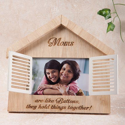 Hut Shaped Personalized Frame: Personalized Gifts for Mother's Day