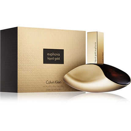 Liquid Gold Euphoria by Calvin Klein for Women EDP: Birthday Gifts for Her