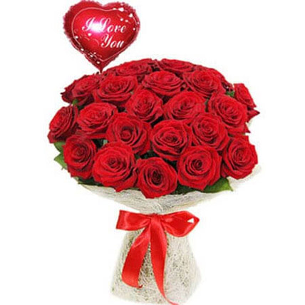 Love with Red Rose: