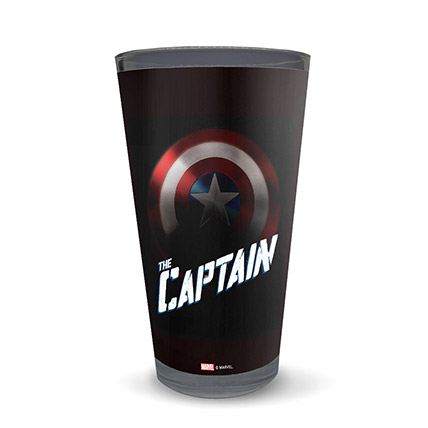 Marvel Captain America The Captain Latte Glass: Unique Gifts Dubai