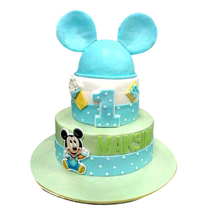 Mickey Mouse Cake: Mickey Mouse Cakes for Kids