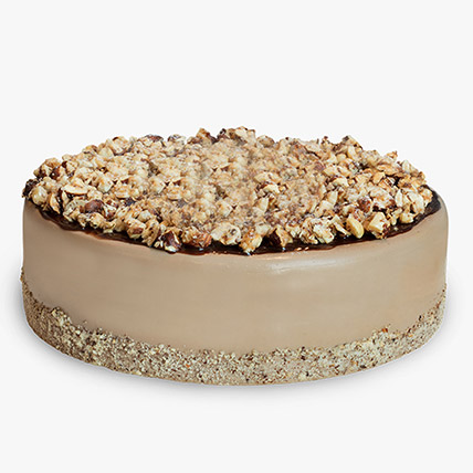 Nutella Infused Creamy Cheesecake: Cheesecakes Delivery Dubai