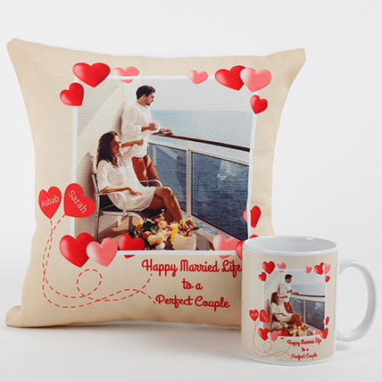 Perfect Love Personalized Combo: Personalised Gifts to Sharjah