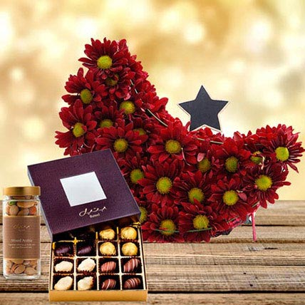 Perfect Moment: Flowers & Chocolates