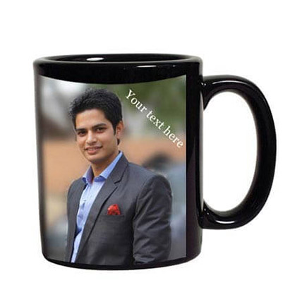 Personalised Photo Mug: