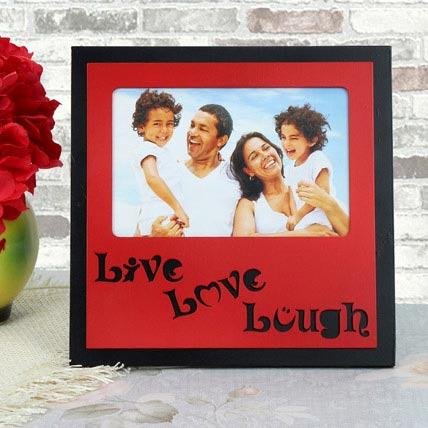 Personalized Live Love Lough Frame: Personalised Gifts Dubai