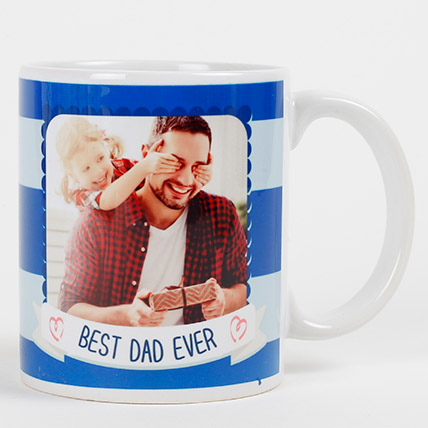 Personalized Mug for Best Dad Ever: Fathers Day Personalised Gifts