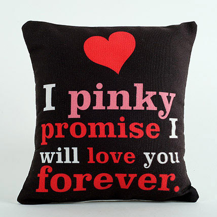 Pinky Promise Cushion: Propose Day Gifts