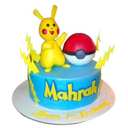 Pokemon Raichu Cake: Pokemon Cake Ideas