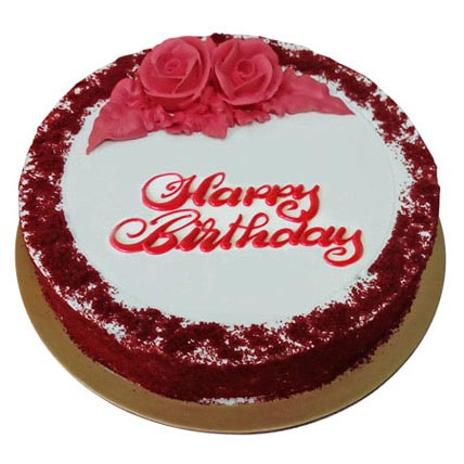 Red Velvet Birthday Cake: Gifts Delivery in Sharjah