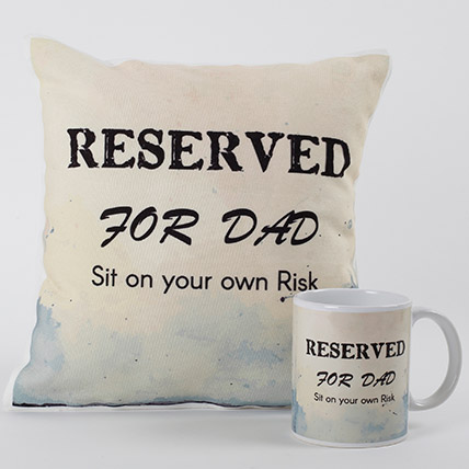 Reserved for Dad Combo: Personalised Gifts for Father