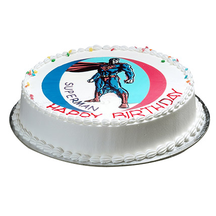 Superman Cake: Birthday Gifts for Kids