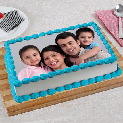 Tempting Photo Cake: Photo Cakes for Anniversary
