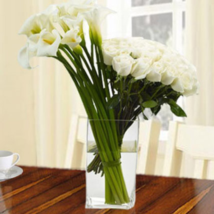 Garden Laughter Bouquet: Funeral Flowers to Abu Dhabi