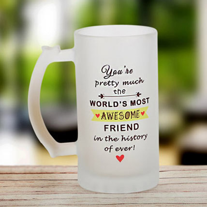 Awesome Friend Mug: Friendship Day Personalised Gifts