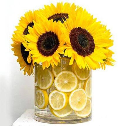 The Fresh Feeling: Sunflowers Bouquets