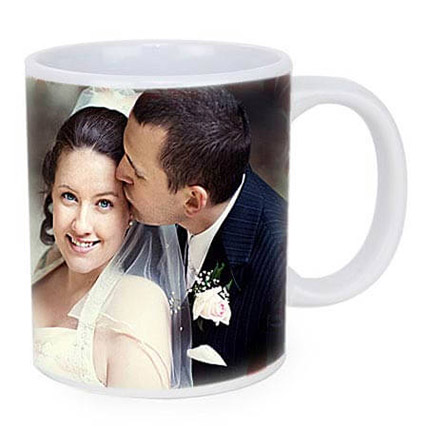 Personalized Couple Photo Mug: Anniversary Gift Ideas for Husband