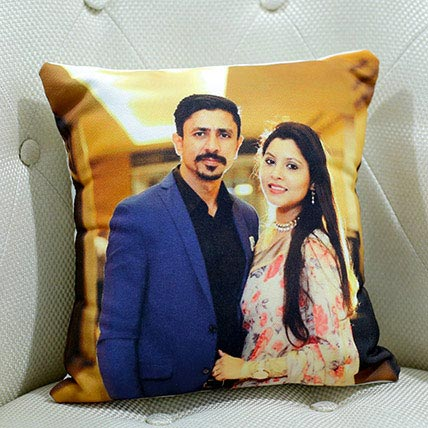 Personalize Photo Cushion: Personalised Gifts for Wife