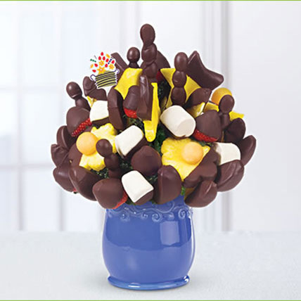 Dipped Fruit Bouquet: Friendship Day Chocolates