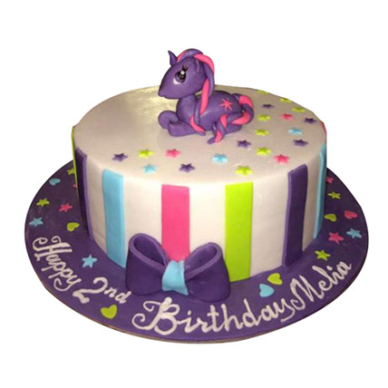 Mesmerizing Pony Cake: My Little Pony Cake