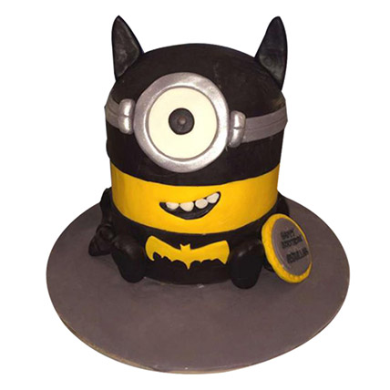 Minion Batman Cake: Batman Birthday Cakes