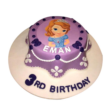 Princess Sofia Cake: Princess Theme Cake