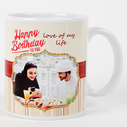 Romantic Birthday Personalized Mug: Personalized Gifts for Her