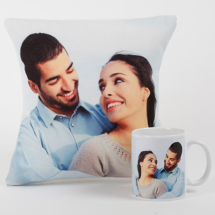 Eternal Love Personalized Combo: Personalised Gifts to Ajman