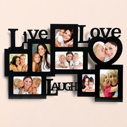 Live Love Laugh Photo Frame: Personalised Gifts to Dubai
